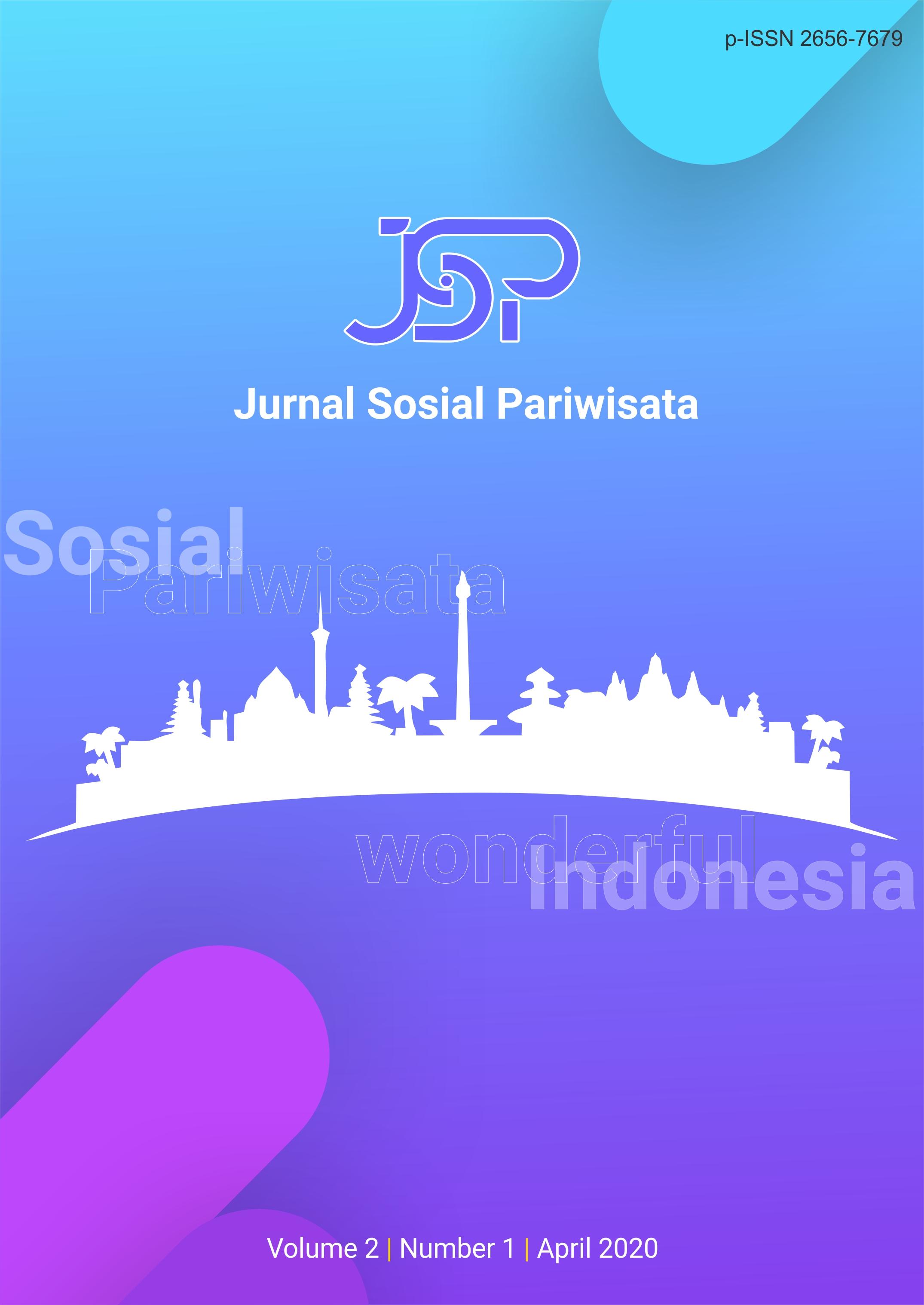 View Vol. 2 No. 1 (2020): Jurnal Sosial Pariwisata April 2020